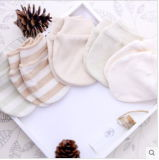 Милое Organic Cotton Gloves для New - принесенного Baby