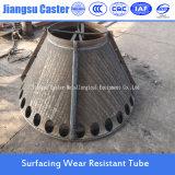 Tubo de acero resistente de la fábrica del producto de la abrasión bimetálica directa de Compund