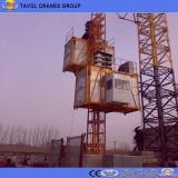 Sc200/200 élévateur de construction de construction de 2 tonnes