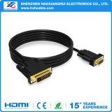2016 o VGA da alta qualidade 24+1 ao cabo de DVI M /M