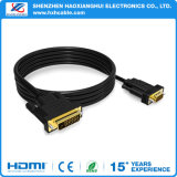 2016 Câble haute qualité 24 + 1 VGA vers DVI M / M