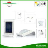 16 lumière infrarouge extérieure de mur de détecteur de mouvement de la lampe PIR de garantie de jardin de pouvoir à énergie solaire de DEL