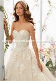 Lhbim Mori Lee покрыло платье венчания мантии Tulle Morilee сатинировки кнопки (Dream-100056)