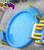 Raggruppamento rotondo di nuoto gonfiabile con un'altezza di 1.5 m.