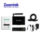 Cadre neuf de Google TV de micrologiciels de Zoomtak T8V Amlogic S905 d'arrivée