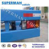 20FT 운반 사용을%s 실용적인 평상형 트레일러 콘테이너 수송 산업 견인봉 트레일러