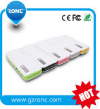 10000mAh Power Bank met 6 LED Lights 3 USB Output