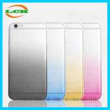 Caixa do telefone móvel do inclinação TPU da série do arco-íris para o iPhone