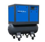 (7.5kw 10HP) compresseur d'air mû par courroie combiné par réservoir de vis