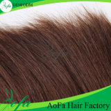 7A populäres Unprocess gerades Menschenhaar-Jungfrau-Peruaner-Haar
