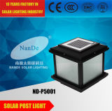 LED 포스트 태양 모형 램프 빛