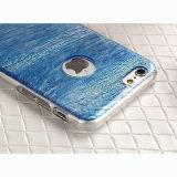 Caja coloreada 3D al por mayor del teléfono móvil de la luz TPU para el iPhone Huawei