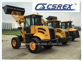 Carregador de rodas, Garbo Forks / Bucket / Disc Trencher / Loader Attachments for Compact Loader
