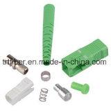 Conetor simples da fibra óptica de Sc/APC