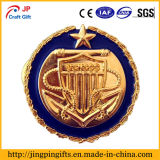 China Fornecedor Custom Die Cast Metal Lapel Pin Badge com esmalte