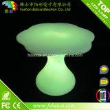 Insieme di plastica della mobilia del giardino del PE LED
