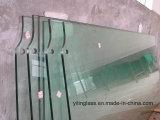 Glace Tempered entaillée de haute résistance de fer inférieur pour la porte