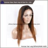 Signora Wig della parrucca del merletto della parte anteriore dei capelli umani del commercio all'ingrosso 100%