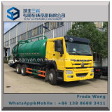Cino HOWO Rhd LHD 6X4 16000 litri di vuoto delle acque luride di aspirazione di camion di autocisterna