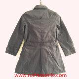 Вскользь хаки сплетенные пальто шанца/шинель/куртка для женщин