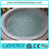 携帯用Whirlpool Massage Bubble Bath Indoor (pH050011 Grey)