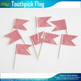 Подгонянные украшением флаги Toothpick торта плодоовощ формы (M-NF29F14035)