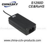 12V de Adapter van de Macht van gelijkstroom voor de Camera van kabeltelevisie (S1250D)