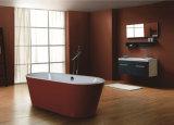 Baignoire acrylique de massage de luxe confortable rectangulaire bon marché des prix pour l'adulte
