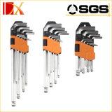 Хороший комплект Hex ключа cr-V 9PCS качества длинний