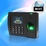 WiFi (5000TC/WiFi)著生物測定の指紋の時間出席システム転送データ