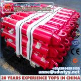 Cilindros hidráulicos personalizados alta qualidade da maquinaria carbonosa