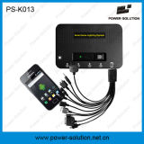 4W nécessaire solaire d'ampoules du panneau solaire 3PCS 1W SMD DEL avec la fonction de chargeur de téléphone (PS-K013)