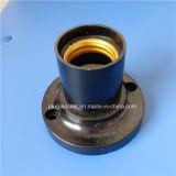 Portalámpara revestida de aluminio del shell de la baquelita E27 (L-110)
