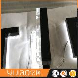Pequeña señalización de la carta de canal del contraluz 3D para el departamento