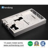 Kundenspezifisches Aluminium anodisiert Prototyp-Modell-Ersatzteile CNC-Prägeteile
