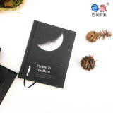 A6 Vintage New Tear Black Cardboard Hard Book Notebook для Paiting Drawing Diary Journal Creative Gift