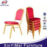 Выдвиженческий дешевый банкет трактира гостиницы обедая стул металла алюминиевый стальной штабелируя (XYM-L188)