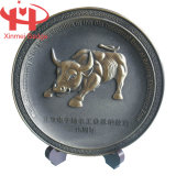 Memorizing Awarding를 위한 Bull Souvenir Plate