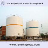 Titanium die Tank van de Opslag van de Druk van de Lage Temperatuur t-61 snijden