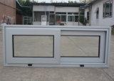 Guichet thermique enduit d'alliage d'aluminium d'interruption de la poudre Kz331 avec le blocage de loquet, guichet de glissement en aluminium
