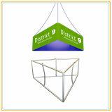 drapeau s'arrêtant de tension triangulaire de tissu de 10ft