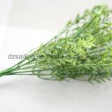 Пластмасса выходит цветок Aritificial для венчания/украшения домашних/сада (SF16293)
