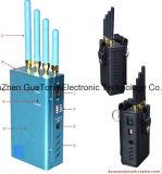 Jammer profissional do sinal do GPS do bloco do jammer do sinal do GPS L1-L5 da Cheio-Faixa