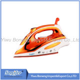 Горяч-Продающ перемещая электрический утюг утюга пара Ssi2837 с керамическим Soleplate (померанцовым)