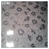 Decorateのための低いIron Frosted Patterned Glass