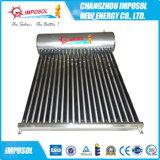 Calefator de água solar do projeto não pressurizado para o uso Home