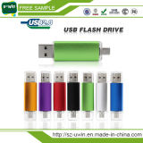 Movimentação colorida do flash do USB de OTG, USB portátil de OTG