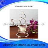 Suporte de vela creativo do Natal do preço de Cheapeset da fábrica (CH-01)