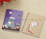 La qualité adaptent le cahier aux besoins du client de dessin animé d'enfant en anglais