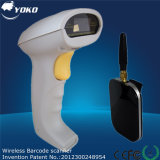 2.4G escáner de código de barras inalámbrico 1d Barcode Scanner POS sistema